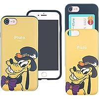 iPhone 8 Plus ケース iPhone 7 Plus ケース Disney Pluto ディズニー プルート カード スロット ダブル バンパー ケース/スマホケース おしゃれ 【 アイフォン8プラス ケース / アイフォン7プラス ケース 】 (祭り プルート) [並行輸入品]