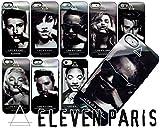 【ELEVEN PARIS】 イレブン・パリ 「LIFE IS A JOKE」シリーズ iPhone5/5S セミハードシリコンケース 「スティービー・ワンダー (Stievie Wonder)」 デザイン [液晶保護フィルムセット] (並行輸入品) 1534-7