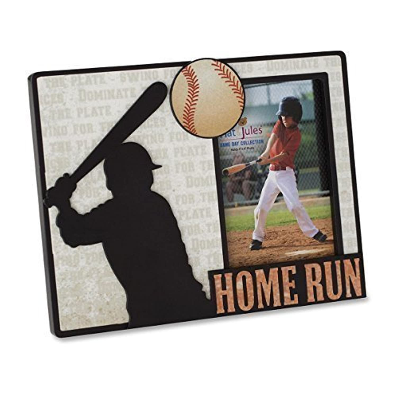 Nat and Jules Baseball Frame by DEMDACO [並行輸入品]