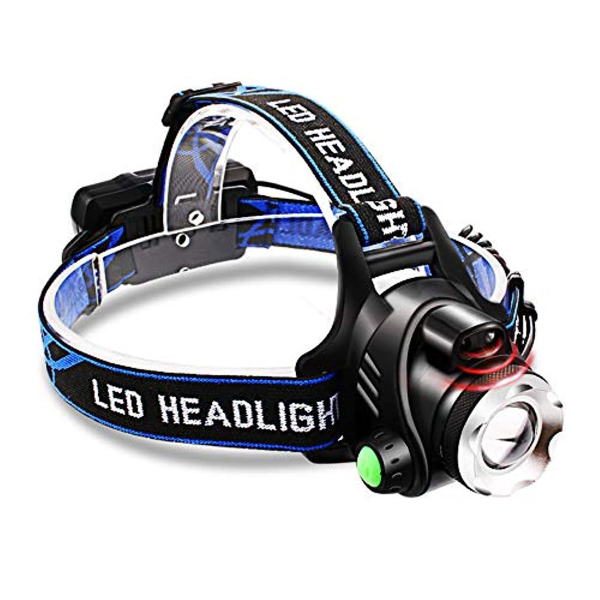 お手入れプリーツミュージカル釣りヘッドランプ, 充電夜釣りグレア超明るい超明るい超明るいスーパーブライト Led ズームミニ防水ヘルメットライト173g