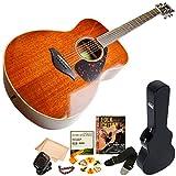 ヤマハ アコースティックギター FS850 NT ナチュラル 11点入門セット ハードケース付属