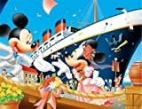 500スモールピース パズルプチ2 ミッキー&フレンズ 幸福への出航 (16.5x21.5cm)