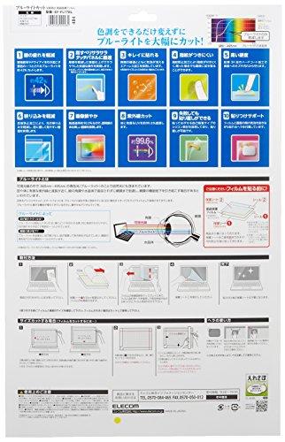 エレコム 液晶保護フィルム ブルーライトカット 17インチ 反射防止 EF-FL17BL
