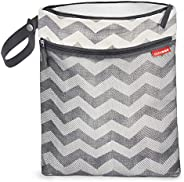 Skip Hop Grab & Go Wet/Dry Bag Chevron, 12lx0.50bx15h in