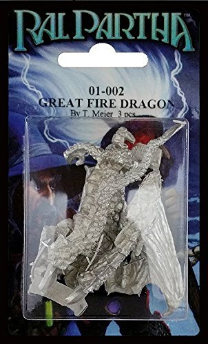 RAL PARTHA 01-00+M4:M302 Great Fire Dragon