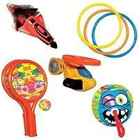 BanzaiプールFunスプラッシュアクションDiving Toys 9pc。パーティパック