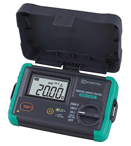 共立電気計器 (KYORITSU) デジタル接地抵抗計 KEW 4105DL