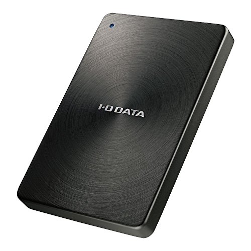 I-O DATA HDD ポータブルハードディスク 1TB  USB3.0対応 全面アルミボディ 日本製 HDPX-UTA1.0K