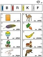 Foerderkartei Lesen 1: Uebungen zur Laut-Buchstaben-Korrespondenz (1. und 2. Klasse)