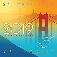 San Francisco壁カレンダー、San Francisco by sfnotes
