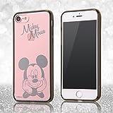 レイ・アウト iPhone7 ケース ディズニー ハイブリッドケース(TPU + ポリカーボネイト)ストラップホール/ミッキーマウス RT-DP12U/MK