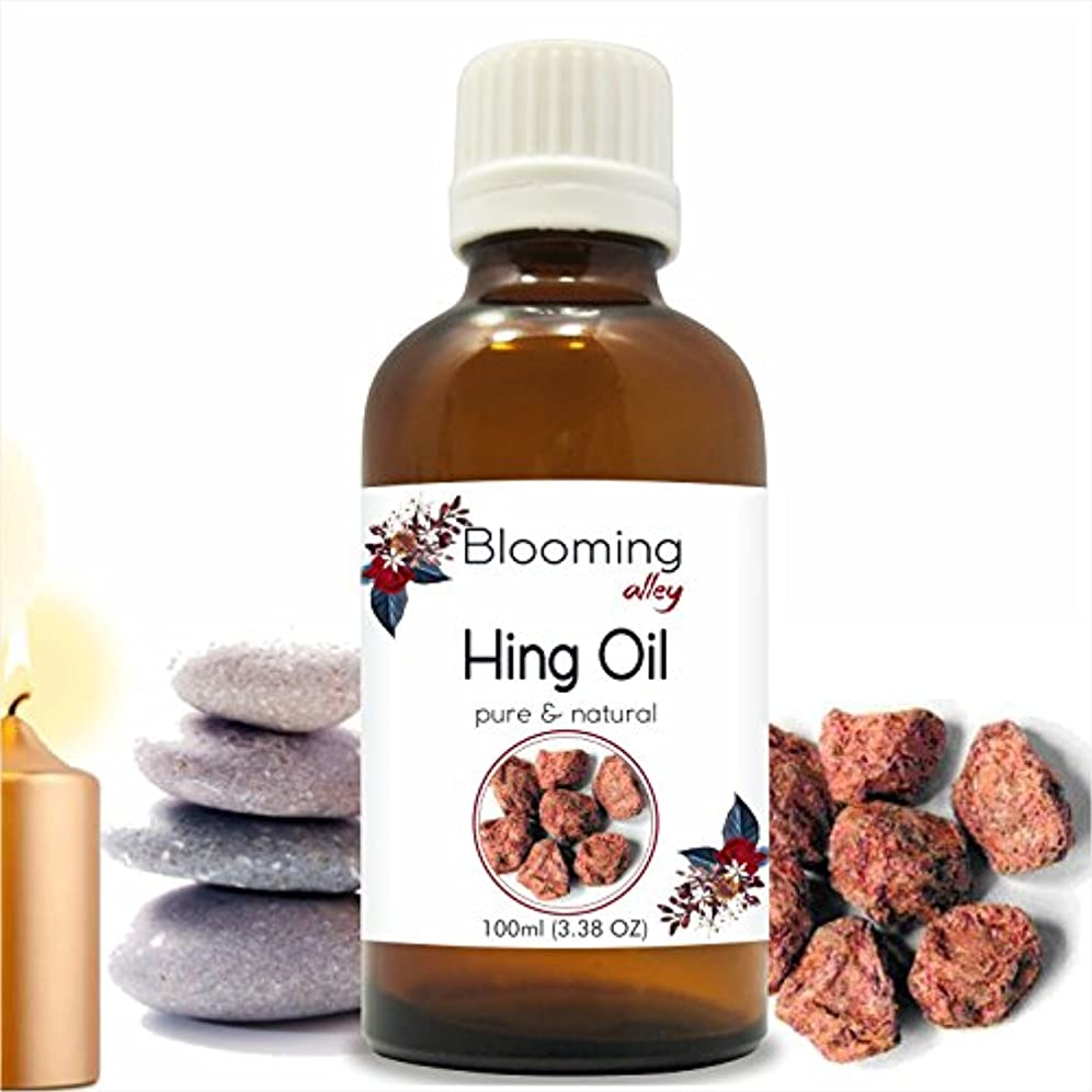 Hing Oil(Ferula Assafoetida) Essential Oil 100 ml or 3.38 Fl Oz by Blooming Alley