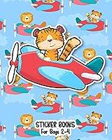 Sticker Books For Boys 2-4: Blank Permanent Sticker Book