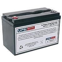 12V 100Ah IT(M5) - UPSBatteryCenter NPP HR12330W-FR 互換バッテリー