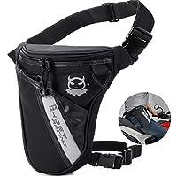 Fansport Leg Bag Outdoor Thigh Bag Motorcycle Bike Bag, Multifunctional Tactical Thigh Packs for Hiking Traveling Fishing Drop Leg Pack Military Waist Leg Bag