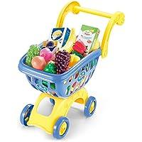 子供のショッピングカート ままごと遊びをするカート 組立式 赤ちゃんのおもちゃ 児童買い物のゲーム 知育玩具 誕生日 クリスマス 入園祝い 女の子 男の子