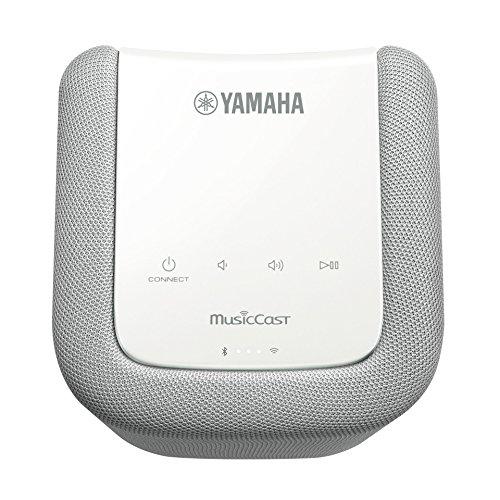 ヤマハ ワイヤレスストリーミングスピーカー WX-010 Bluetooth AirPlay radiko.jp MusicCast® 対応 Wi-Fi内蔵 ホワイト WX-010(W)