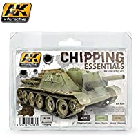 AK Interactive Chipping Essentials Weathering Set 138