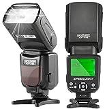 (K&Fコンセプト) K&F Concept  スピードライトフラッシュ KF-560 ユニバーサル規格 LCDディスプレイ搭載 Canon・Nikonデジタル一眼レフカメラ対応