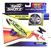 Hot Wheels-Spin Shotz Disc Silver Gauntlet Starter Set