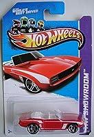 HOT WHEELS HW SHOWROOM RED '69 CAMARO 197/250 BE THE WORLD'S BEST DRIVER CARD