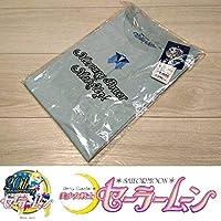 少女戦士セーラームーン meets GU グラフィックT S マーキュリーロゴジーユー Tシャツ 半袖 ブルー 青