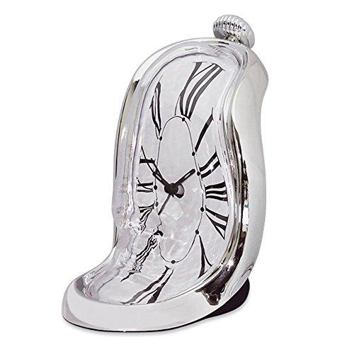 ダリ融解ベッドサイドの目覚まし時計 - シュルレアリスト サイケデリックコスメ