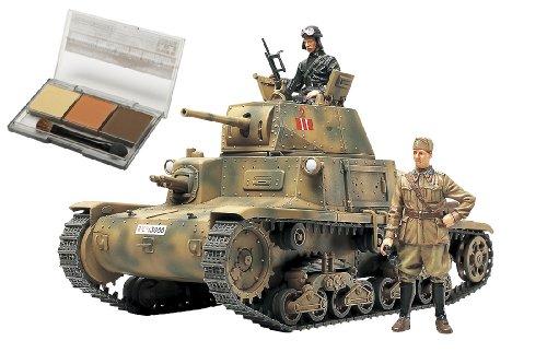 スケール限定シリーズ 1/35 イタリア中戦車 M13/40 カーロ・アルマート (ウェザリングマスター付き) 25139