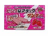 北海道限定 有楽製菓 ピンクなブラックサンダー プレミアムいちご味 12袋入り
