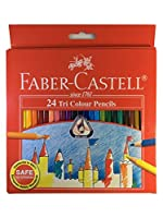 Faber - Castell 24TriカラーPencils