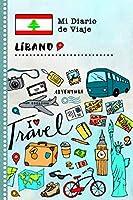 Libano Diario de Viaje: Libro de Registro de Viajes Guiado Infantil - Cuaderno de Recuerdos de Actividades en Vacaciones para Escribir, Dibujar, Afirmaciones de Gratitud para Niños y Niñas