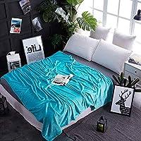 ソフト コーラルフリース 暖かい ベッド 毛布, 贅沢な フランネル 元に戻せる状態 軽量 ソファ 毛布, 夏の空気の状態 日 (秒) 毛布-R 150x200cm(59x79inch)