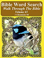Bible Word Search Walk Through the Bible Volume 65: 1 Chronicles #4 Extra Large Print