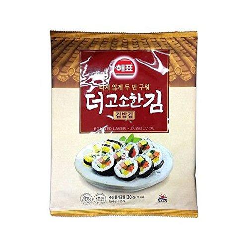 海苔巻き用 韓国海苔20g×10袋 キンパ 韓国風のり巻き キムパプ