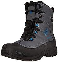 Columbia Youth Bugaboot Plus III Omni-Heat Boot Graphite Hyper Blue - 1 M US Little Kid ( Little Kid (4-8 Years) ) [並行輸入品]