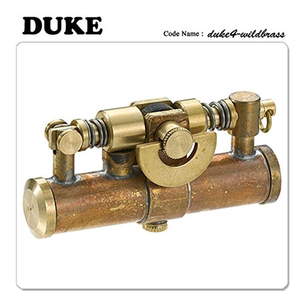 空気情緒的証言DUKE デューク4 オイルライター ワイルドブラス