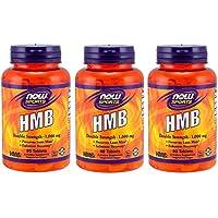 3個セット HMB 1000 mg 90タブレット NOW FOODS 海外直送
