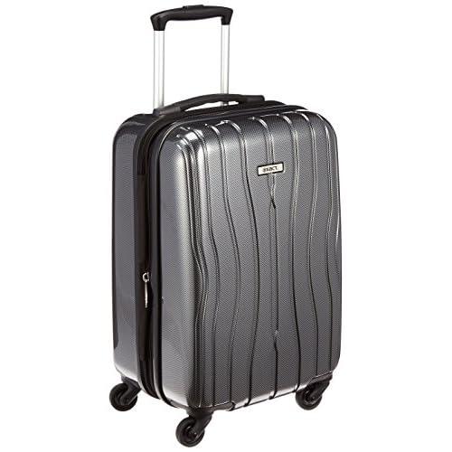 [イグザクト] exact エース スーツケース ディストーション 47cm 36L 2.8kg 機内持込可 エキスパンダブル 05894 02 (ブラックカーボン)