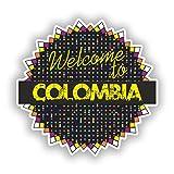コロンビア 2xコロンビアビニールステッカー