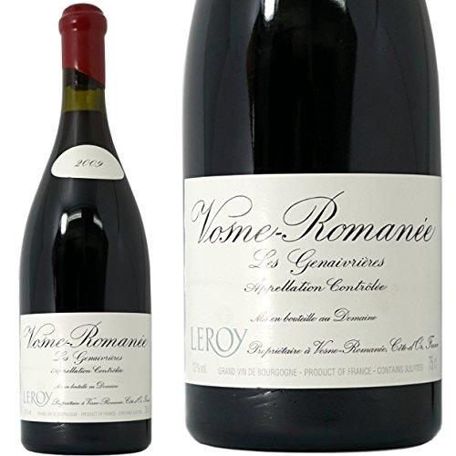 ヴォーヌ ロマネ オー ジュヌヴリエール 2009 ドメーヌ ルロワ 赤ワイン 辛口 フルボディ 750ml