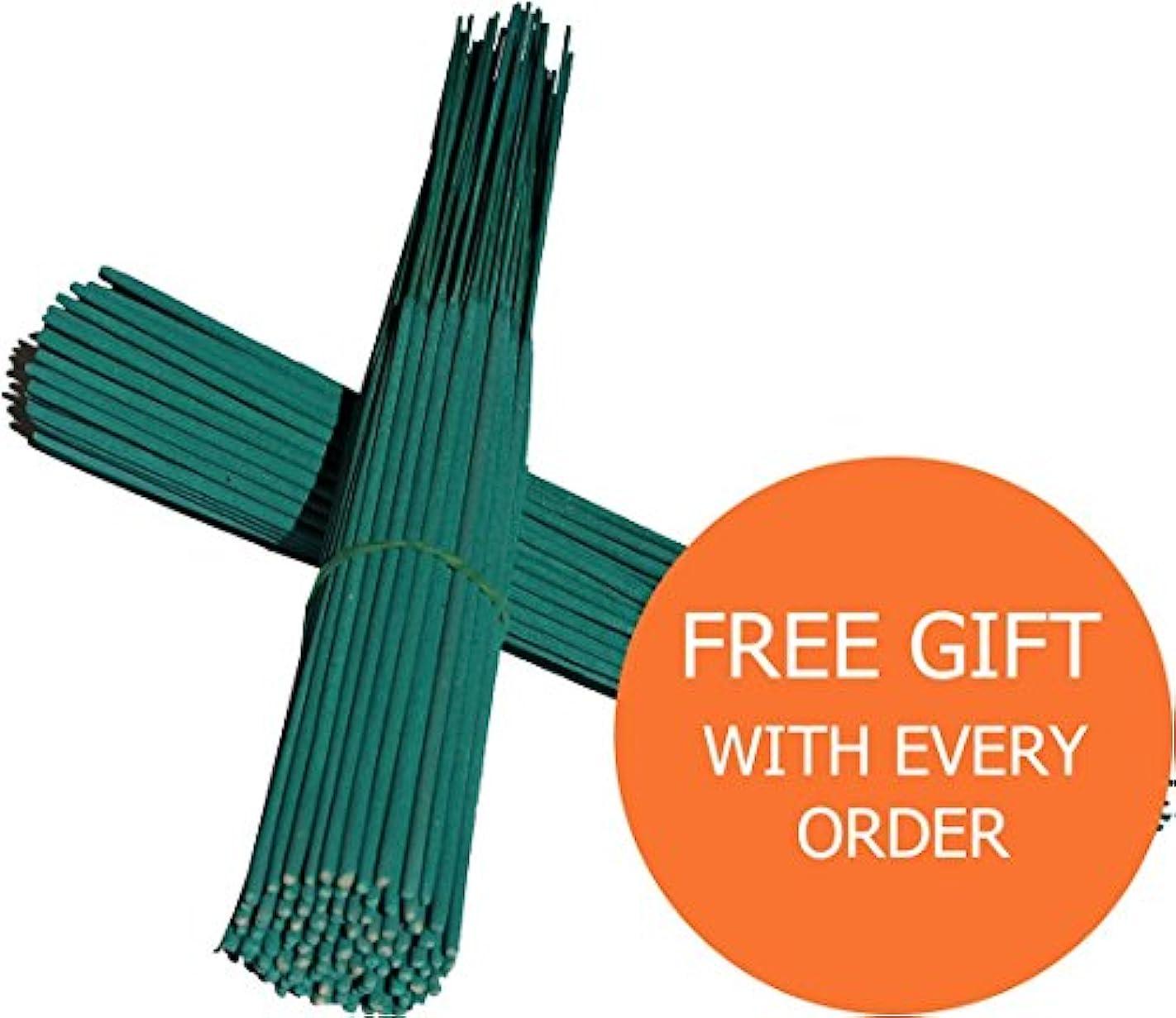 重要な役割を果たす、中心的な手段となる礼儀冷酷な無香お香グリーン色Sticks 11