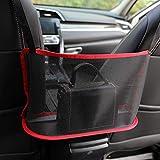 Car Handbag Holder, Seat Back Organizer Mesh Large Capacity Bag, Purse Storage & Pocket, Seat Back Net Bag, Handbag Holder Be