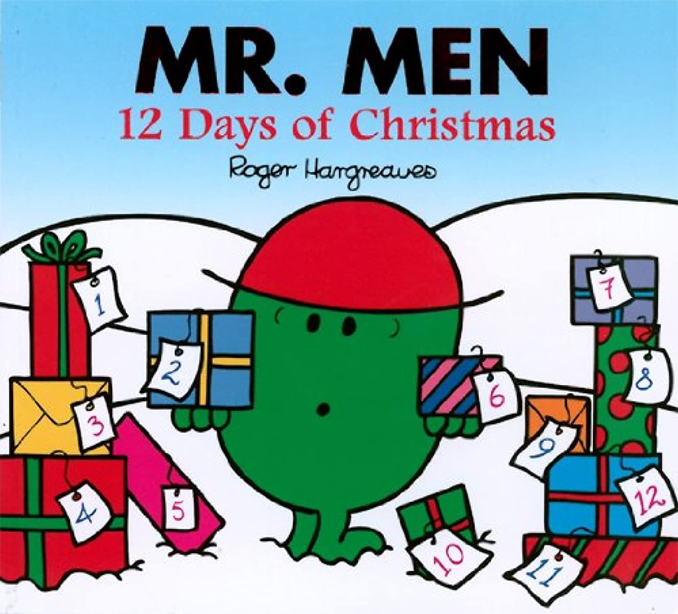 ヒロイックおもしろい気味の悪いMr. Men 12 days of Christmas (Mr. Men and Little Miss) (English Edition)