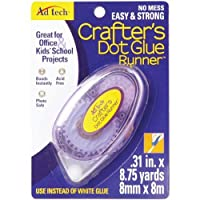 Ad-Tech 05708 Crafter's Dot Glue Runner, 0.31-Inch x 315-Inch
