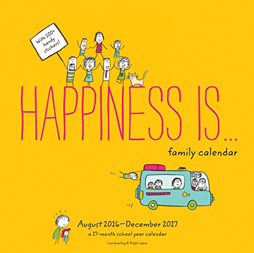 Download Happiness Is . . . Family Calendar (August 2016 - December 2017) 1452152624
