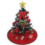 クリスマスツリー 60cm 卓上 クリスマスツリー ミニクリスマスツリー 電飾つき セット かわいい クリスマスグッズ インテリア 用品 クリスマスプレゼントに最適 おしゃれ 高級クリスマスツリー