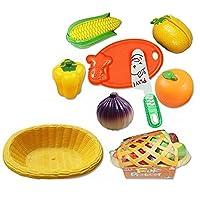 ふるいにかける果物と野菜をナイフ&カッティングボード、F