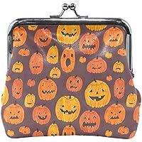 がま口 財布 口金 小銭入れ ポーチ かぼちゃ Jiemeil バッグ かわいい 高級レザー レディース プレゼント ほど良いサイズ