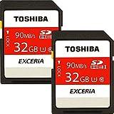 2個セット SDHC カード東芝日本製 class10 UHS-I (32GB, B) [並行輸入品]