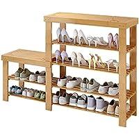 靴のラック多機能シンプルでモダンな家庭用靴のベンチシューズボックスストレージスツールドアシューラック (サイズ さいず : 120 * 27 * 82cm)